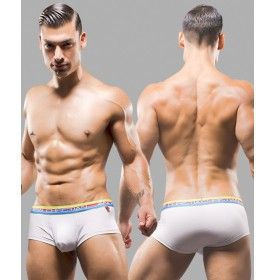 Almost Naked Tagless Boxer, White
